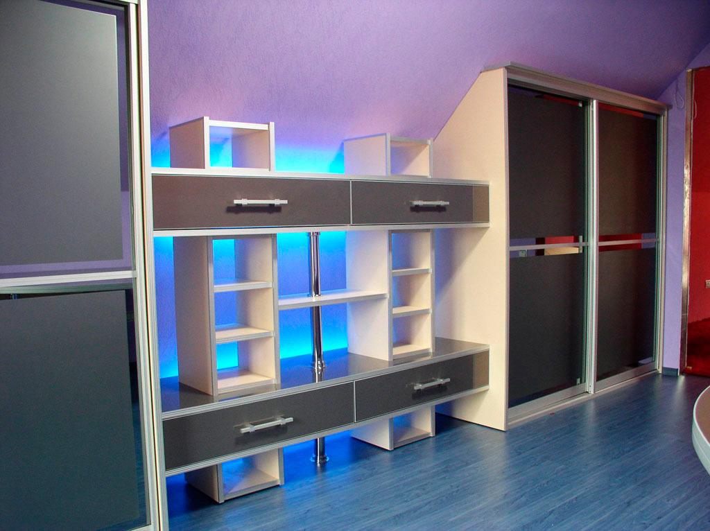 Светодиодная подсветка шкаф-купе своими руками
